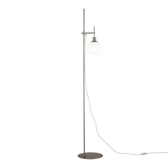 Lampadar Maytoni Erich, modern, nichel mat, 1XE14