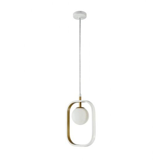 Suspensie Maytoni Avola, modern, alb, auriu, 1XG9