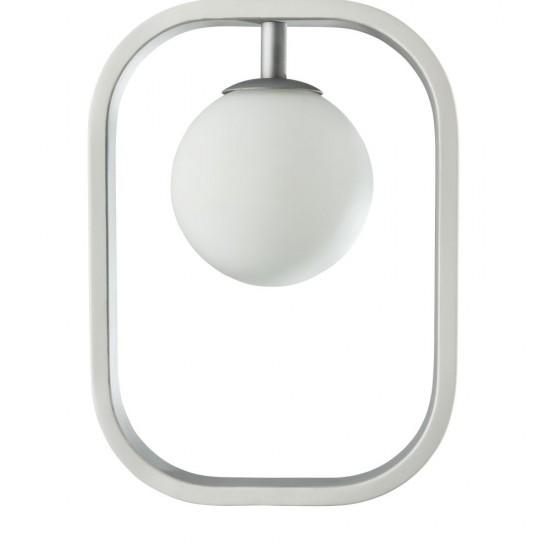 Suspensie Maytoni Avola, modern, alb, argintiu, 1XG9