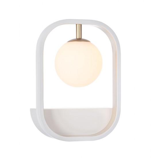 Aplica Maytoni Avola, modern, alb, auriu, 1XG9