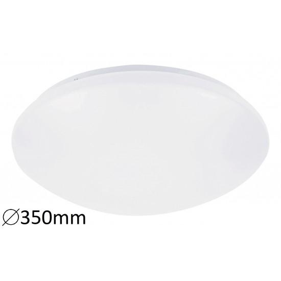 Plafoniera Rabalux Lucas, alb, senzor prezenta, LED, 18W, 1170 lumeni, 4000K, IP44, 3419