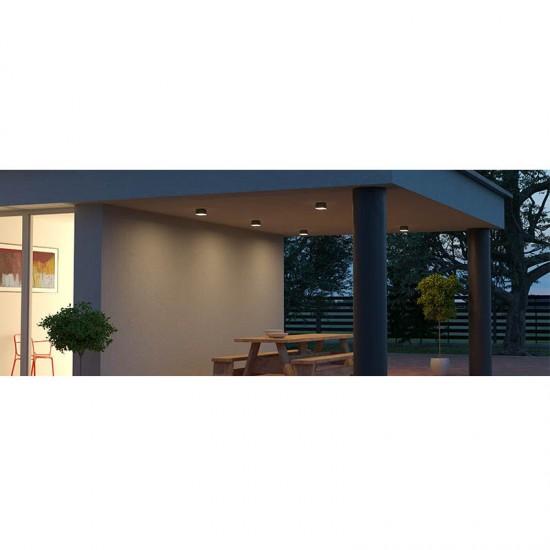 Plafoniera exterior Akron, alb mat, LED, 9W, 754 lumeni, 3000K, IP54. 90108