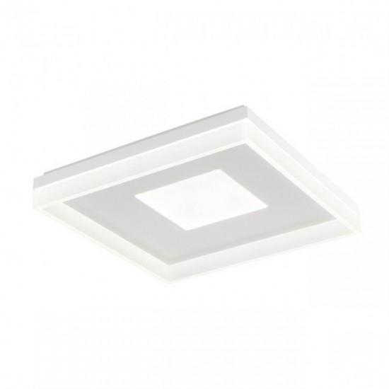 Plafoniera Redo Maya, alb mat, LED, 55W, 3575 lumeni, alb cald 3000K, 51 cm, 01-1999