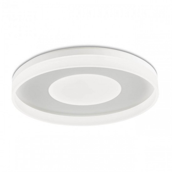 Plafoniera Redo Maya, alb mat, LED, 75W, 4575 lumeni, alb cald 3000K, 60 cm, 01-2003