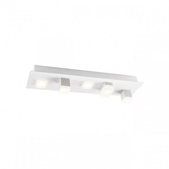 Plafoniera Redo Pixel, alb mat, LED, 15W, 960 lumeni, alb cald 3000K, 01-2012