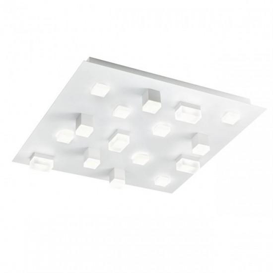 Plafoniera Redo Pixel, alb mat, LED, 48W, 2920 lumeni, alb cald 3000K, 01-2016