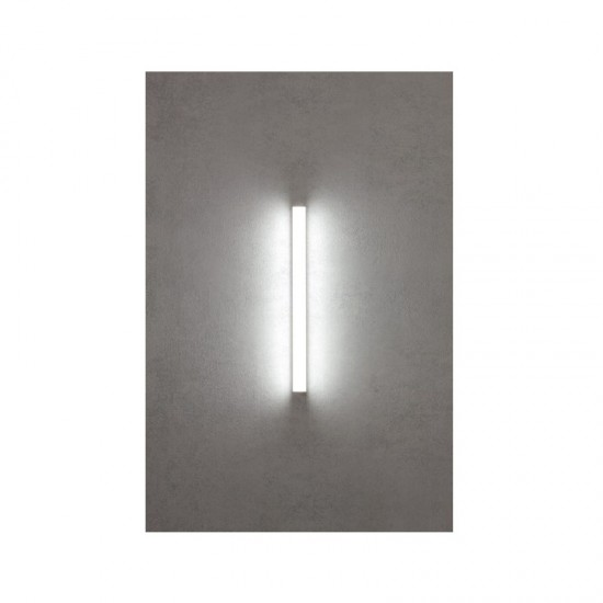 Aplica Redo Task, crom, LED, 18W, 1404 lumeni, IP44, 90 cm