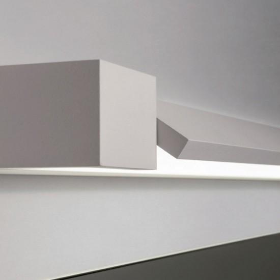 Aplica Redo Flipper, orientabila, alb mat, LED, 18W, 1525 lumeni, 3000K, IP44, 60 cm, 01-2294