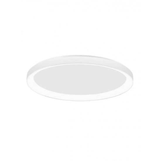 Plafoniera Nova Luce Pertino, alb, LED, 30W, 1800 lumeni, alb cald 3000K, D.38 cm, 9853671