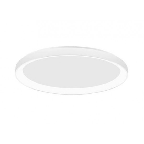 Plafoniera Nova Luce Pertino, alb, LED, 38W, 2280 lumeni, alb cald 3000K, D.48 cm, 9853673