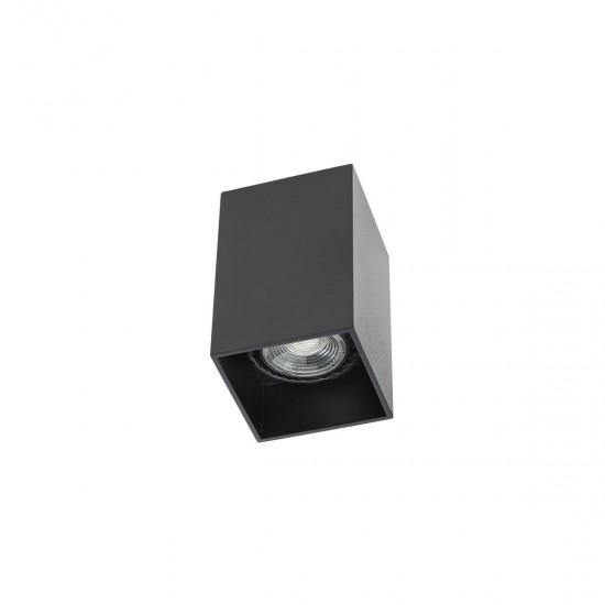 Plafoniera Arelux XCard, negru, 1XGU10, CD01 SBK