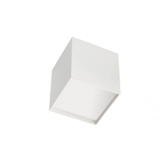 Plafoniera Arelux XSmooth, alb, LED, 10W, SM01 SWH
