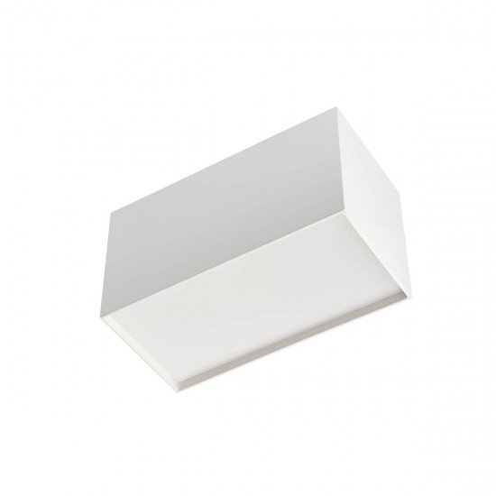 Plafoniera Arelux XSmooth, alb, LED, 20W, SM02 SWH