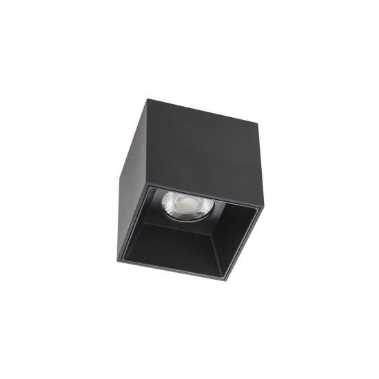 Plafoniera Arelux XCore, negru, square, LED