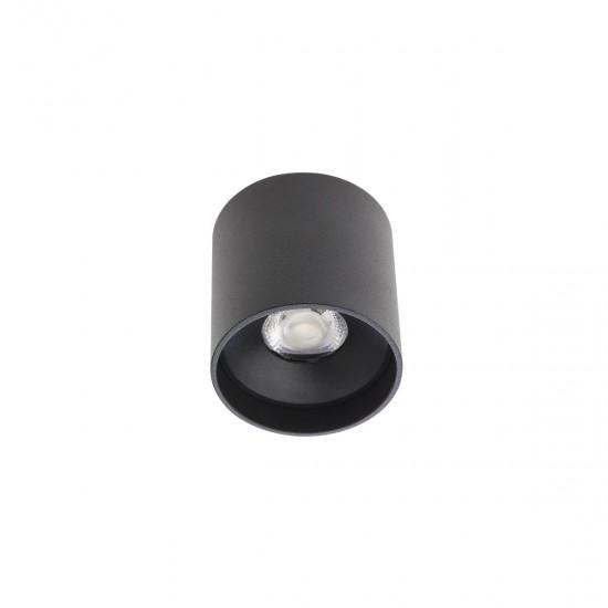 Plafoniera Arelux XCore, negru, round, LED
