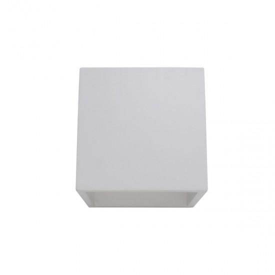 Aplica Arelux XGess Wall, gips, LED, 6W, 522 lumeni, 3000K, GSS23WW