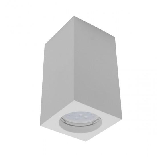 Plafoniera Arelux XGess, patrat, 1XGU10, 13 cm, GSS34