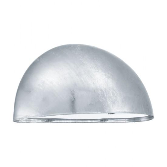 Aplica exterior Lepus, argintiu, 1XE27, IP23, 90867