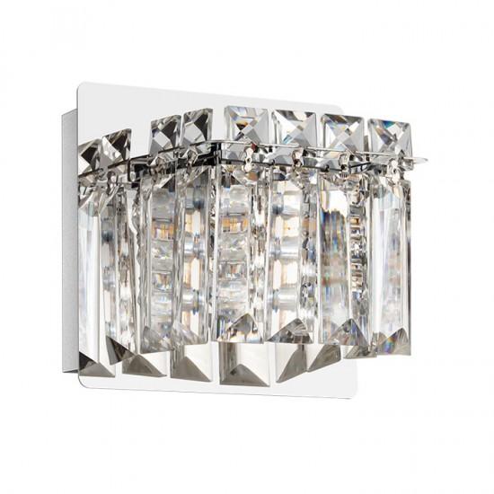 Aplica Eglo Fuertescusa, crom, 1XG9, LED, 3W, 3000K, 360 lumeni, 98597