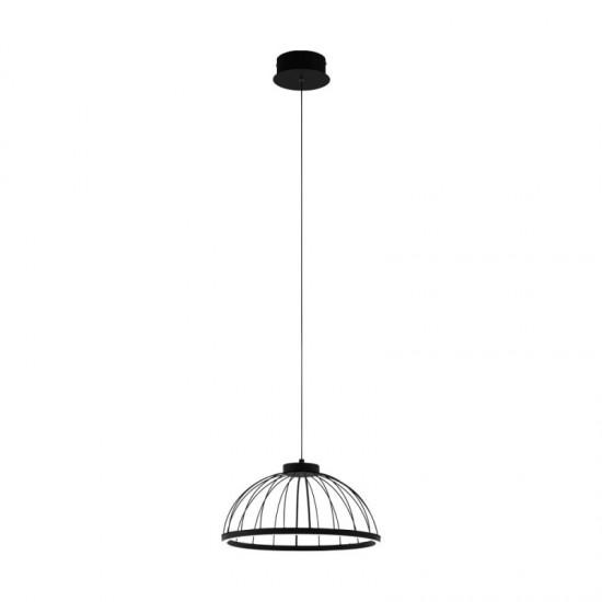 Suspensie Eglo Bogotenillo, negru, LED, 22W, 2750 lumeni, alb cald 3000K, 99401