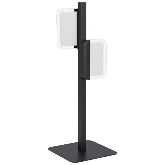 Veioza Eglo Ervidel, negru mat, LED, 9W, 960 lumeni, alb cald 3000K, 98878
