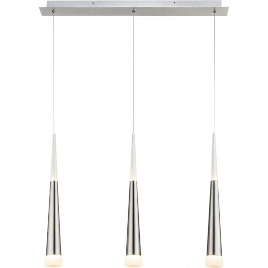 Lustra Globo Sina, nichel mat, LED, 15W, 1200 lumeni, 3000K, 15914-3