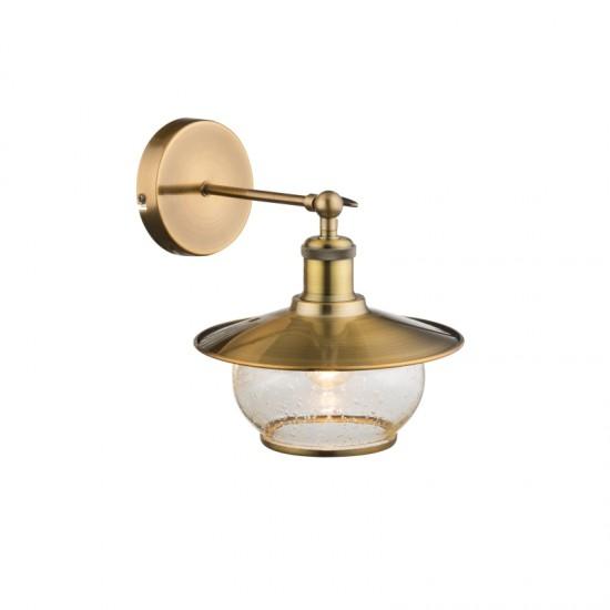 Aplica Globo Nevis, bronz, sticla, 1XE27, 69030W