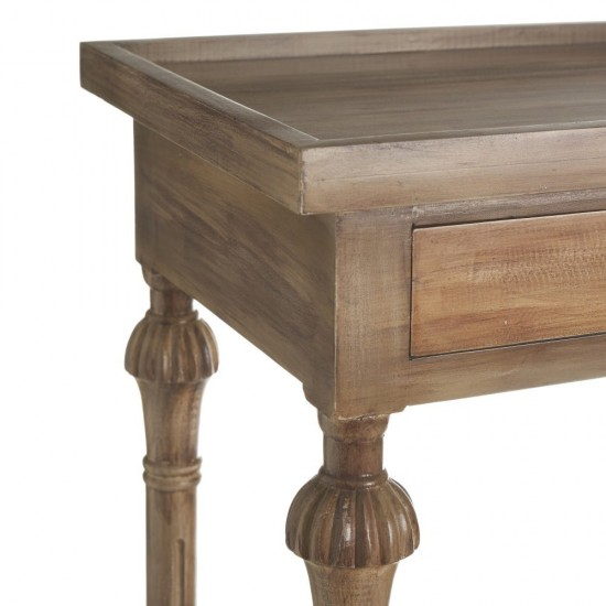 Noptiera din lemn, cu sertar si polita, Ema, 151169