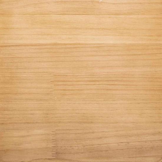 Scaun bar Loga, metal gri, lemn, H.80 cm, 166777B