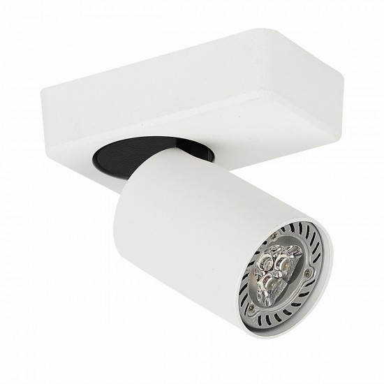 Aplica Interior Federica, alb mat, 1XGU10, SPL-3001A-1-WH