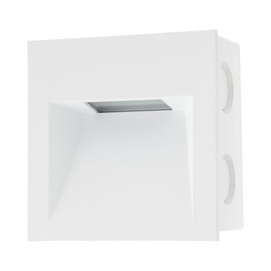 Corp incastrat in perete cu LED XGhost GS01WH