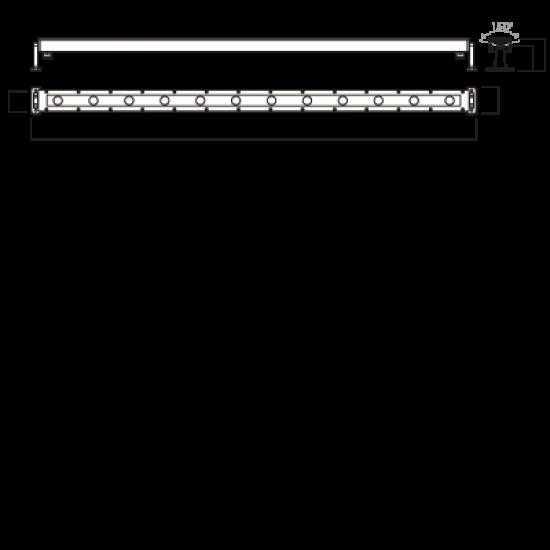 Corp de iluminat XRow 12X3W